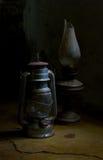 煤油灯 库存照片