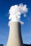 煤炭发电厂 免版税库存照片