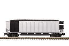 煤炭在轨道的有轨电车 库存图片