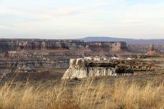 煤炭峡谷在沙漠 免版税库存照片