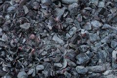 从煤炭燃烧的背景  库存照片