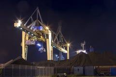 煤炭起重机 库存照片