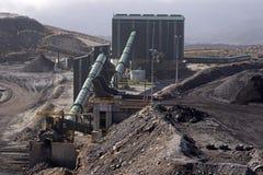 煤炭洗涤物设施 免版税图库摄影