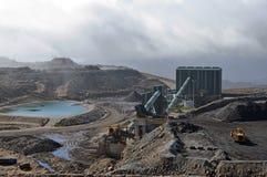 煤炭洗涤物设施 免版税库存图片