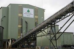 煤炭洗涤的植物 免版税图库摄影