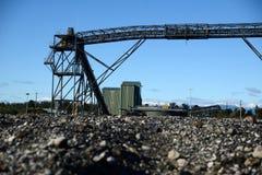 煤炭loadout 免版税库存图片