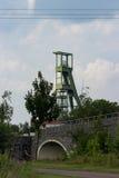 煤矿业的塔 免版税库存照片