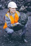 煤矿业的工作者 库存图片