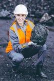 煤矿业的工作者 图库摄影