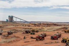 煤矿业的设备 图库摄影