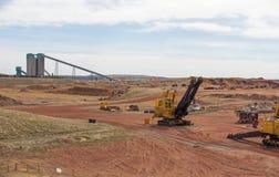 煤矿业的eqipment 图库摄影