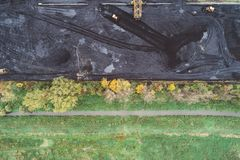 煤矿在西里西亚,波兰 图库摄影