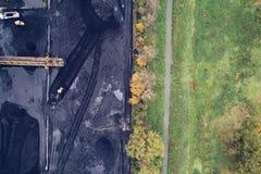 煤矿在西里西亚,波兰 库存照片