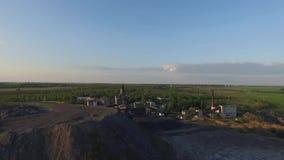 煤矿在Donbass 股票录像