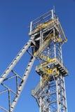 煤矿塔 库存照片