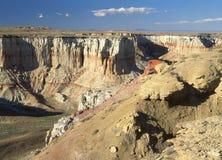 煤矿峡谷, AZ 免版税库存图片