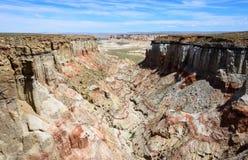 煤矿峡谷 免版税库存图片