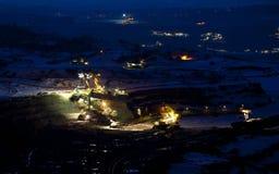 煤矿开采 库存照片