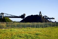煤矿开采 库存图片