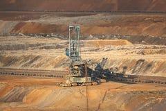 煤矿挖掘 免版税库存图片
