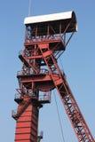 煤矿轴 免版税图库摄影