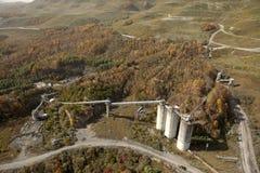 煤矿阿巴拉契亚边陆 免版税库存图片