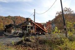 煤矿阿巴拉契亚边陆 库存图片