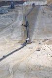煤矿露天开采矿 库存图片