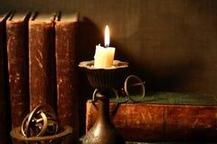照明设备蜡烛 免版税图库摄影