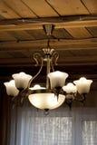 照明设备装饰,枝形吊灯 免版税库存图片