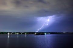 照明设备雷电 库存图片