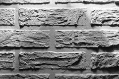 仿照普罗旺斯样式的砖墙 库存照片