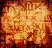 仿照混合画法样式的抽象背景 免版税库存图片