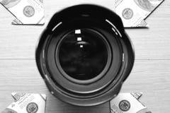 照片事务 免版税库存图片