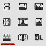 照片传染媒介象 免版税图库摄影