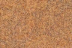 照片回收粗面镶边的布朗牛皮纸呈杂色的难看的东西纹理 免版税库存照片