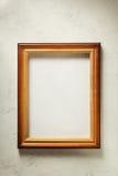 照片在墙壁上的画框 库存图片
