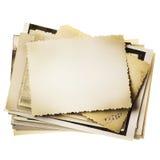 照片堆 免版税库存照片