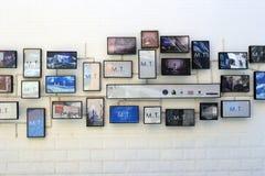 照片墙壁 免版税库存照片