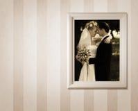 照片婚礼 免版税库存照片
