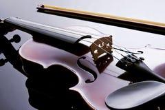 照片工作室小提琴 库存照片