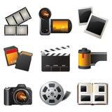 照片录影 免版税图库摄影