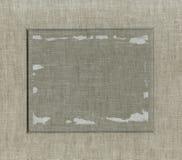照片或文本的框架从有二面对切的裁减的纸板席子 库存图片