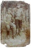 照片战士葡萄酒 免版税库存图片