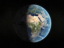 照片拟真的地球 图库摄影
