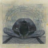 瑜伽Yantra 免版税库存照片