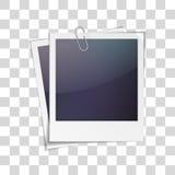 照片框架传染媒介 图库摄影