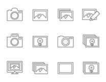 照片概述 免版税图库摄影