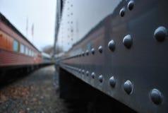 照片点铁路消失乌贼属的口气 免版税图库摄影