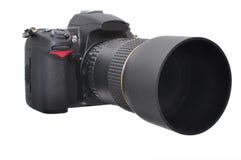 照片照相机- DSLR 免版税库存图片